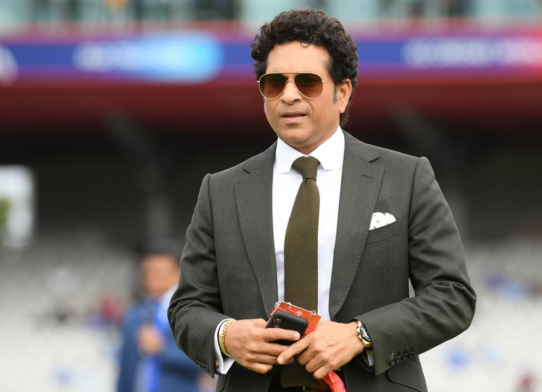Sachin Tendulkar took in a video chat on twitter expressed ...