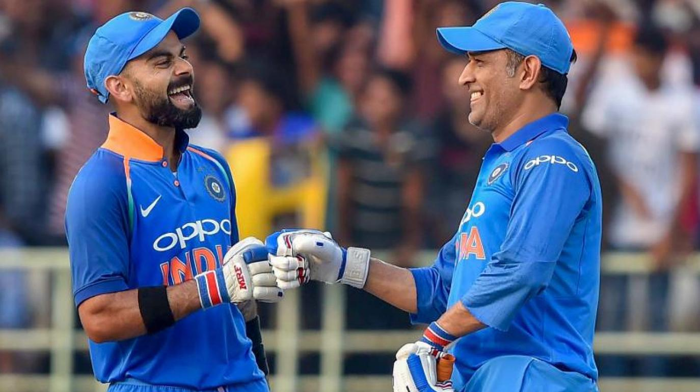 Virat Kohli talks about MS Dhoni and credits him for his growth and becoming India's captain.