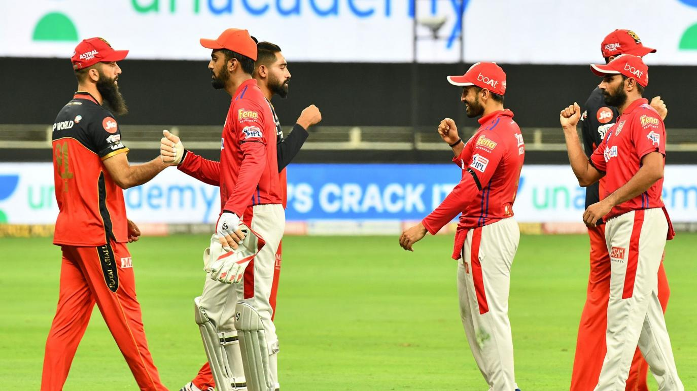 Kings XI Punjab skipper KL Rahul produced a masterly century as they condemned RCB to a 97-run defeat in the team's second game of Dream 11 IPL