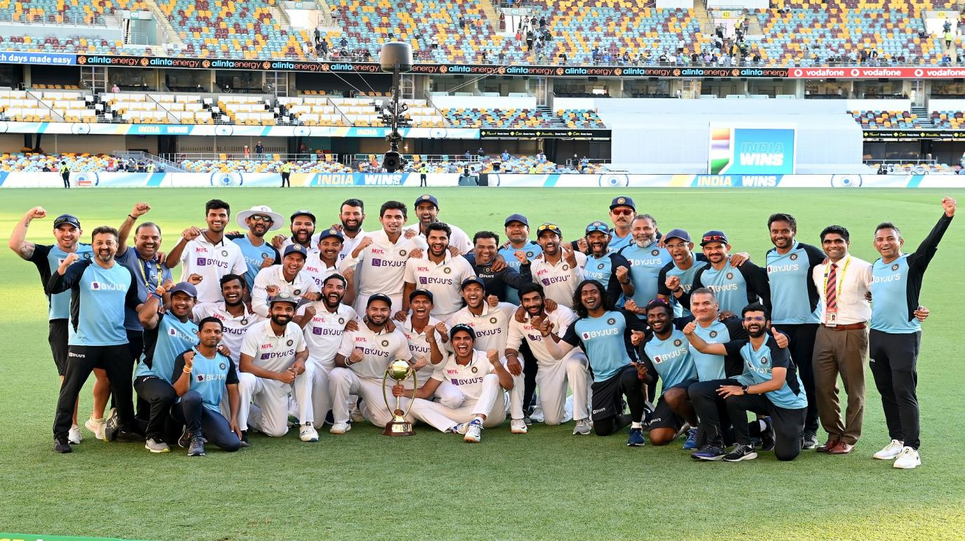In a fitting end to what has been a series for the ages, Team India completed a historic Test series win, chasing down an improbable 328 on Day 5 at the Gabba.