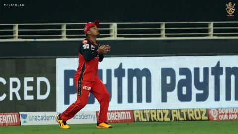 Pawan Negi Catching RCB