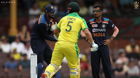 Aus v Ind ODI 20