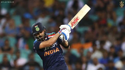 Aus v Ind ODI 25