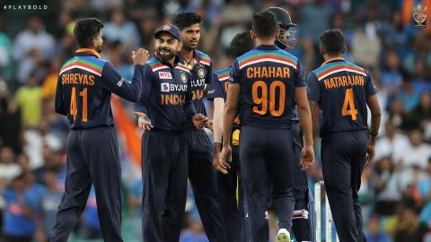 Aus v Ind T20 21