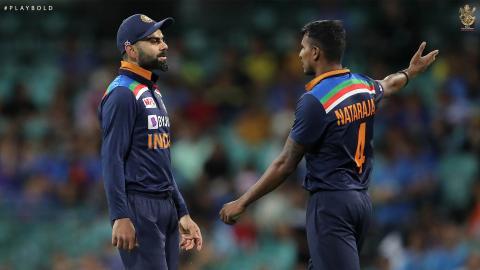 Aus v Ind T20 22