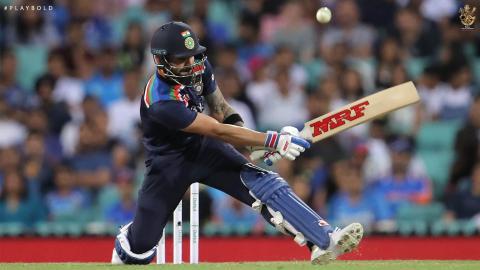 Aus v Ind T20 25