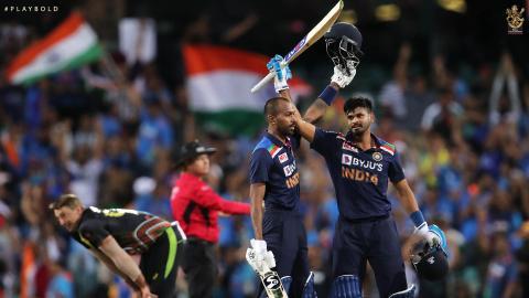 Aus v Ind T20 26